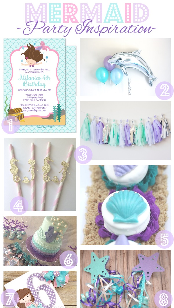 MermaidPartyInspiration